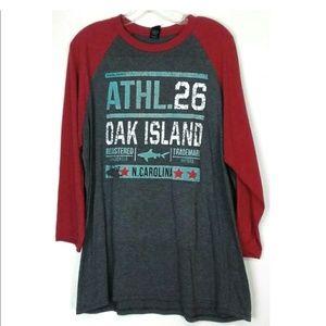 Oak Island Long Sleeve Tee Size XL